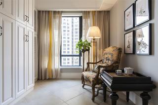 158平美式混搭之家休闲室布置图