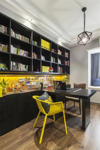 混搭三居装修书房设计图