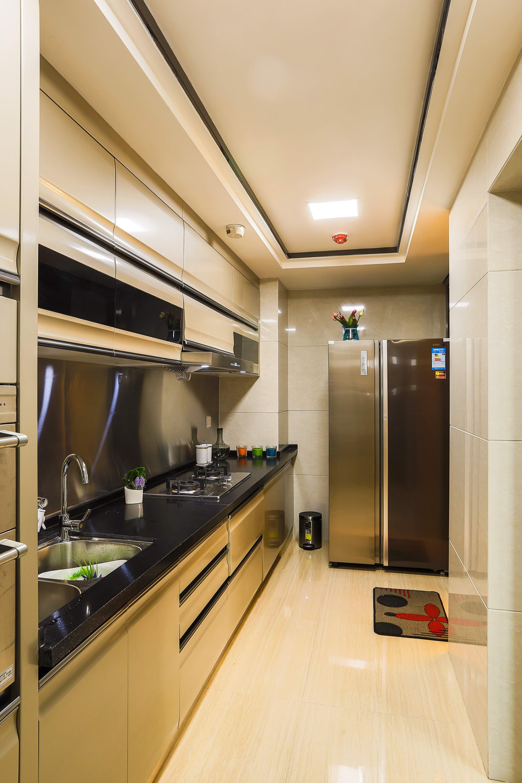 现代中式装修厨房构造图