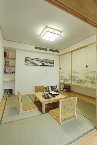混搭风格三居茶室设计图