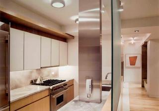 100㎡现代二居装修厨房设计图