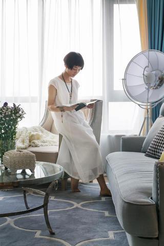 二居室混搭装修窗帘图片