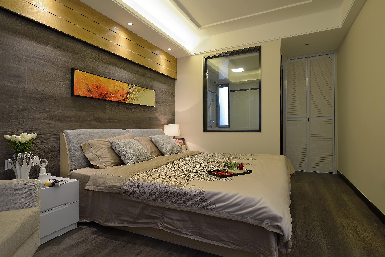 140平简约装修卧室设计图
