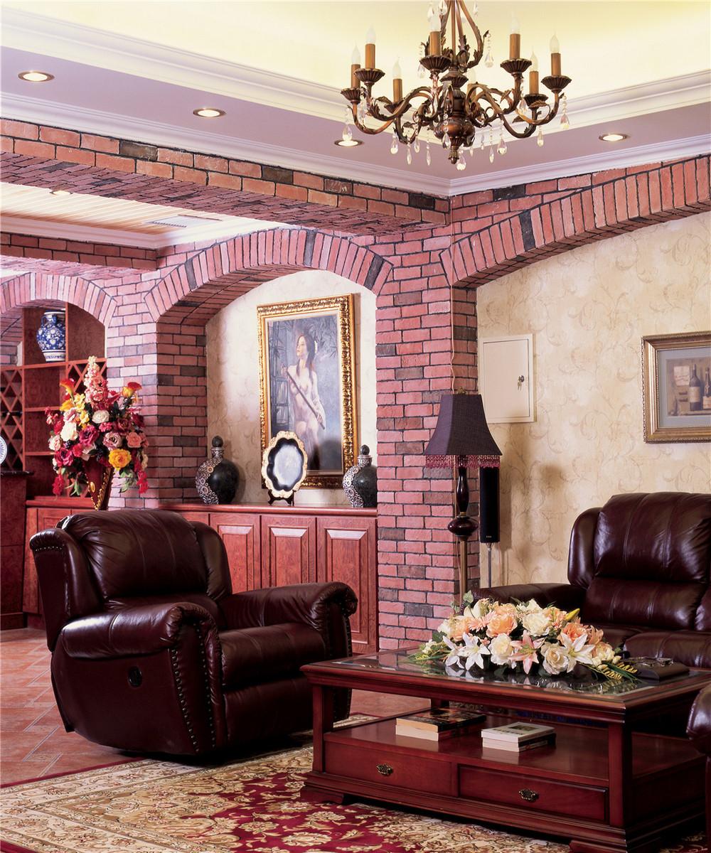 欧式豪华古典别墅装修造型拱门设计