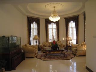 新古典别墅装修客厅布置图