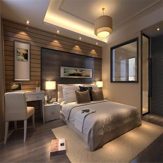 125平三居卧室装修效果图