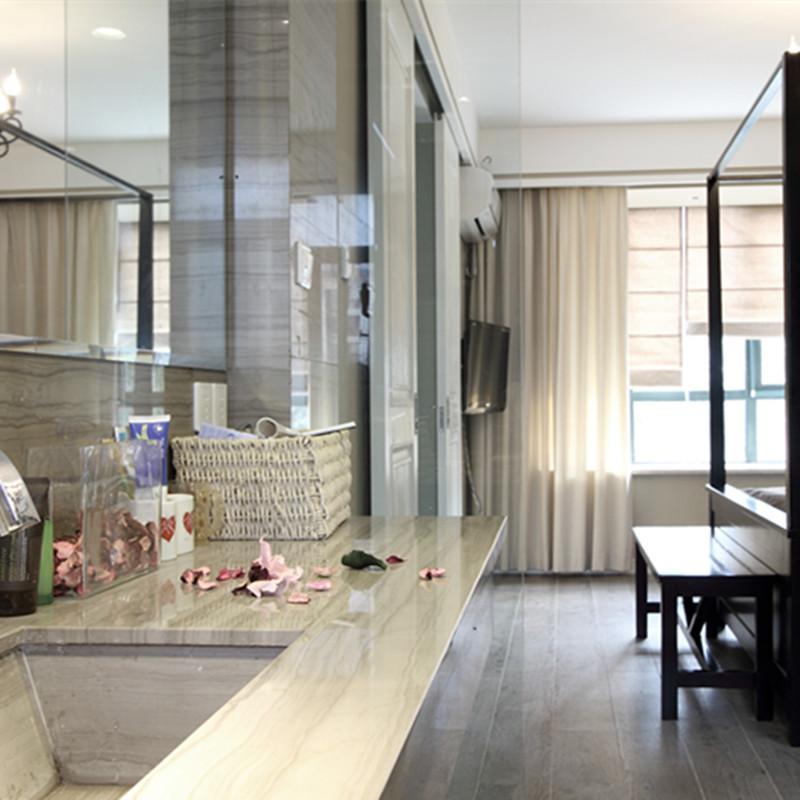 120平现代美式设计洗手台图片