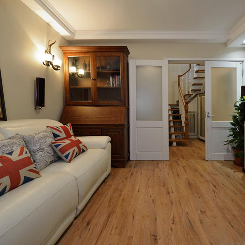 复式复古美式风格休闲室装修效果图