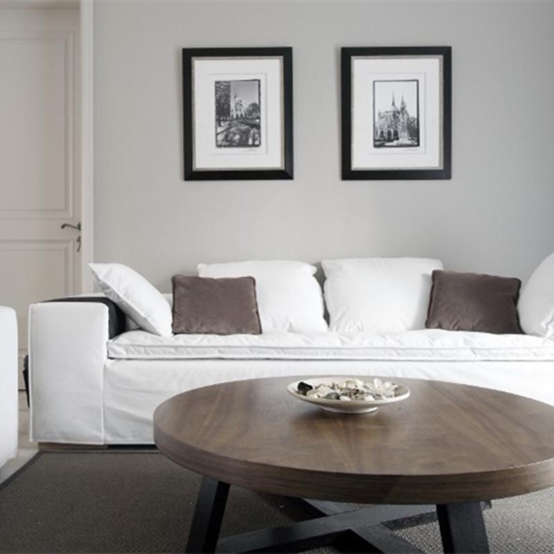 120平现代美式设计沙发图片