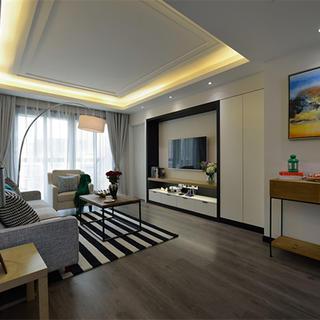 125平三居装修设计 简洁大方