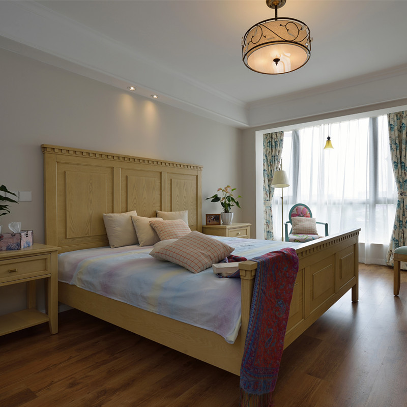 100㎡美式卧室装修效果图