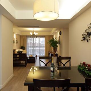 130平美式三居装修设计效果图