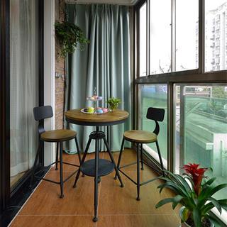 两居室简约之家阳台设计效果图