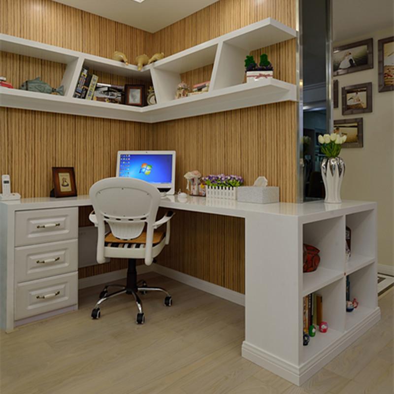 两居室简约之家客厅工作区设计效果图