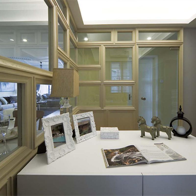 三居室现代简约书房装修效果图