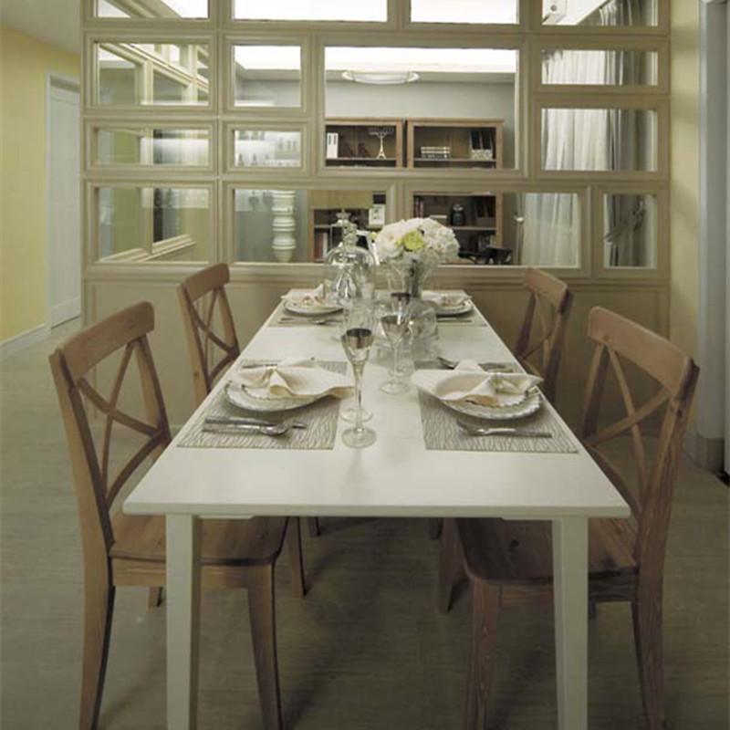 三居室现代简约餐厅装修效果图