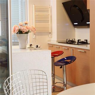 简约两居室装修吧台设计