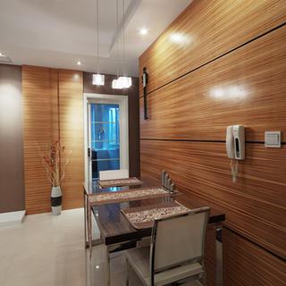 三居室简约餐厅装修效果图
