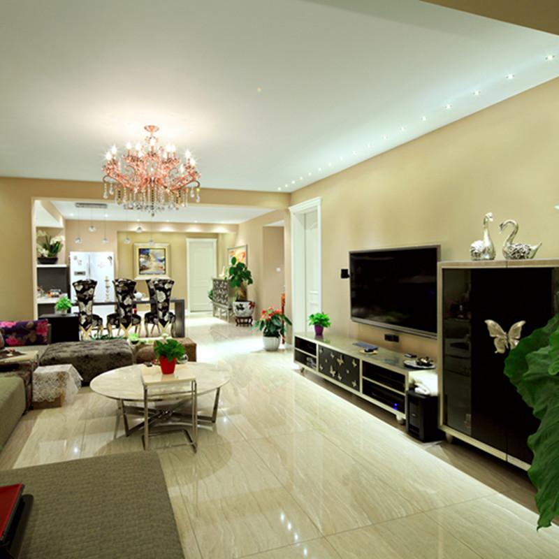 混搭中式客厅装修效果图
