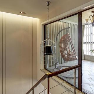 120㎡现代风格三居装修阁楼设计图