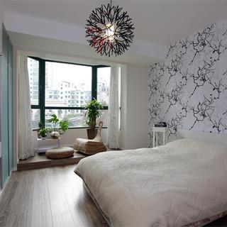 125平现代简约三居装修效果图