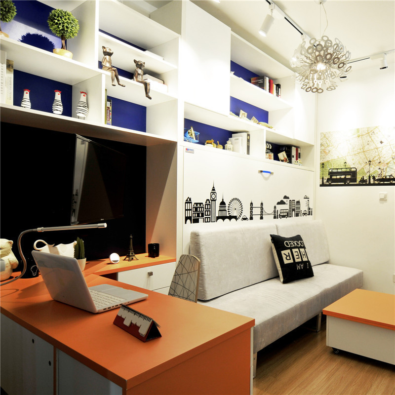 小户型沙发背景墙装修效果图