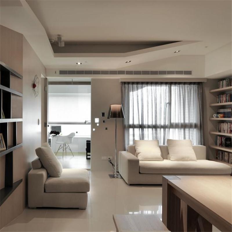 三居室简约客厅装修效果图