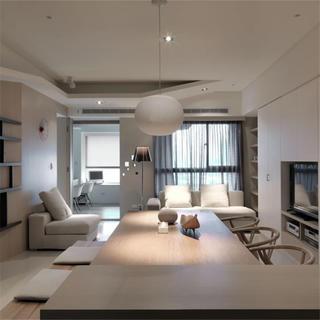 三居室简约装修吊顶设计