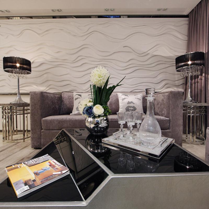 现代风格沙发背景墙装修效果图