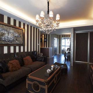 三居室简欧装修设计 沉稳优雅