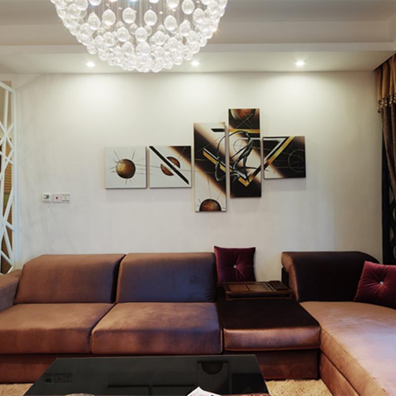 三居室简约装修沙发图片