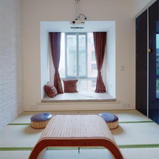三居室简约365体育在线官网直营榻榻米卧室设计
