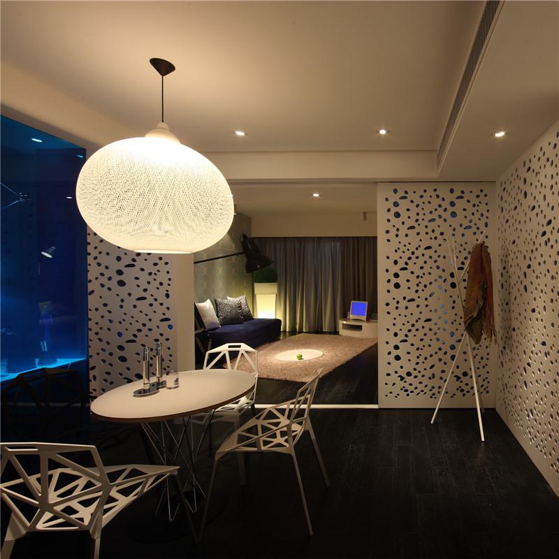 一居室简约小户型装修吊灯设计