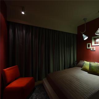 一居室简约小户型装修卧室搭配图