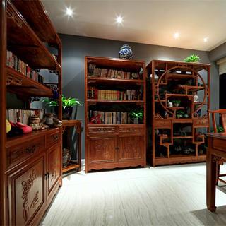混搭中式书房装修效果图