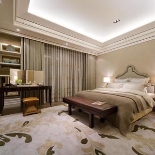 大户型现代简约风格装修卧室布置图