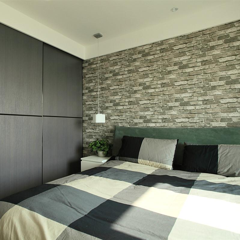 120平北欧混搭风格卧室装修效果图