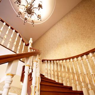160平复式欧式风格装修楼梯设计