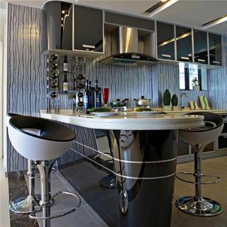 两居室现代风格家吧台设计