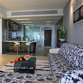 两居室现代风格家 个性时尚