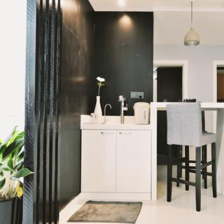 90平北欧风情两居装修吧台设计