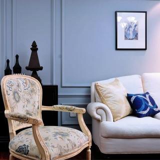 两居室美式风格家 蓝调之恋