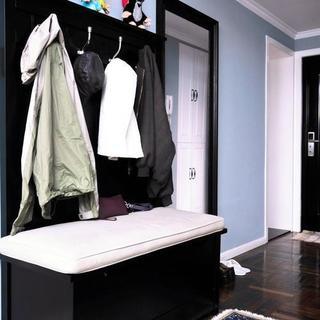 门两居室美式风格家门厅布置图