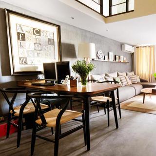 一居室小户型Loft装修餐厅设计图