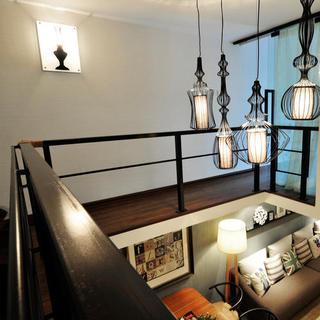 一居室小户型Loft装修楼梯走廊