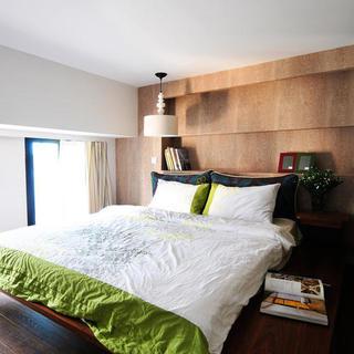 一居室小户型Loft装修卧室搭配图