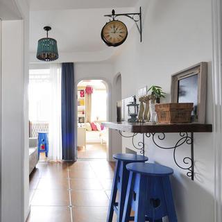 小户型地中海风格公寓装修玄关设计