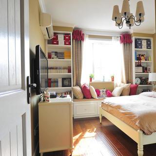 小户型地中海风格公寓装修飘窗设计