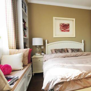 小户型地中海风格公寓装修卧室布置图