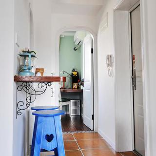 小户型地中海风格公寓装修吧台设计